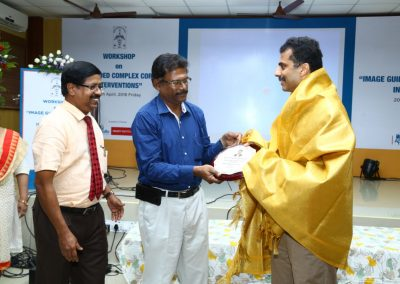 Department of Cardiology Madras Medical Mission and Govt General hospital to gether conducted a workshop on Image Guided Complex Coronary Intervention