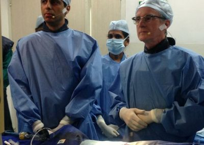 During Procedure with Dr.Antonio Colombo