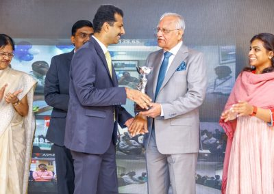 Received award on Founder_s Day 2017 from Apollo hospitals chairman for Paper Publications