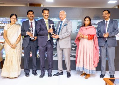 Received award on Founder_s Day 2018 from Apollo hospitals chairman for Clinical Excellence in Cardiac Sciences