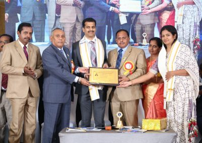 Received the Lifetime Achievement award from Lions Club