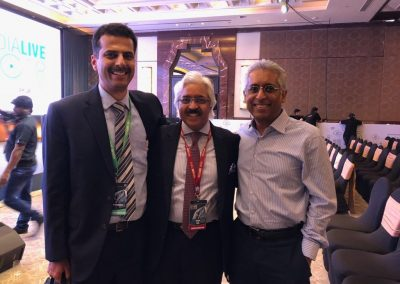 With Dr.Ashok Seth and Dr.Ganesh Manoharan during India live Conference
