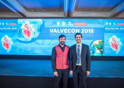 With Dr.Muthukumaran.C.S during the VALVECON 2018 conference